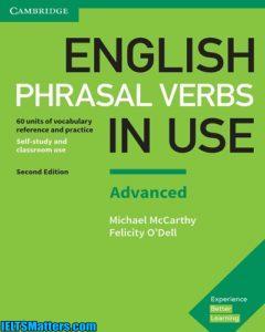 دانلود رایگان ورژن جدید کتاب English Phrasal Verbs in Use Advanced