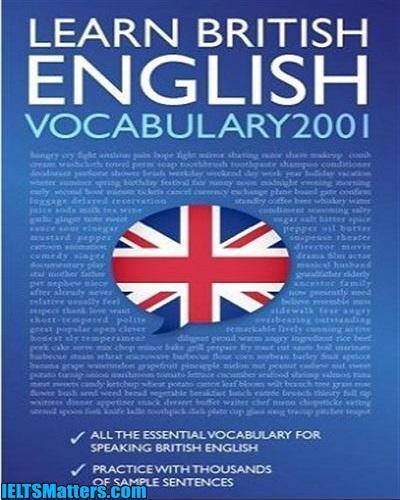 دانلود رایگان کتاب Learn British English-Vocabulary 2001