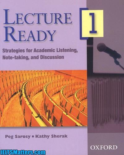 دانلود رایگان کتاب Lecture Ready 1 +فایل های صوتی