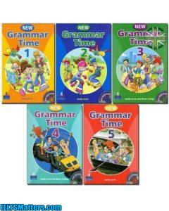 دانلود رایگان مجموعه کتاب های New Grammar Time