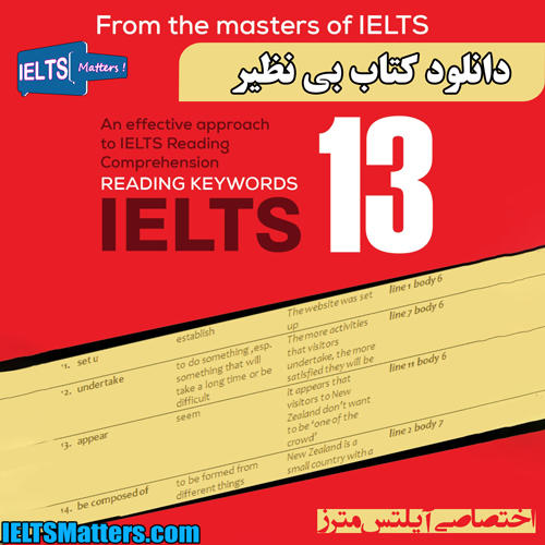 دانلود کتاب Reading Keywords IELTS 13