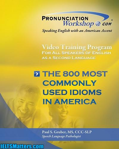 دانلود رایگان کتاب The 800 Most Commonly Used Idiom in America