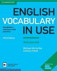 ویرایش سوم کتاب English Vocabulary in Use Advanced به همراه فایل های صوتی