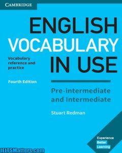 1.ویرایش جهارم کتاب english-vocabulary-in-use Pre-intermediate-and-Intermediate به همراه فایل های صوتی