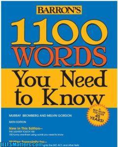دانلود کتاب ۱۱۰۰ واژه ضروری ۱۱۰۰Words you need to know