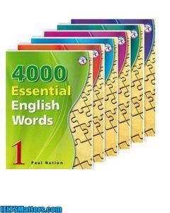 دانلود رایگان مجموعه کتاب های 4000 لغت ضروری زبان انگلیسی