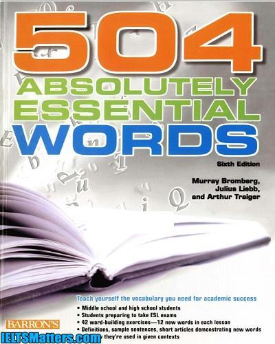دانلود رایگان کتاب 504Absolutely Essential Words