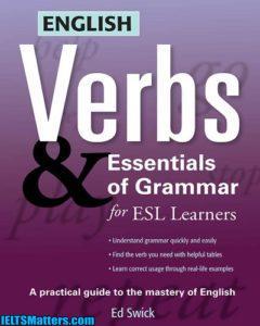دانلود رایگان کتاب English Verbs & Essentials of Grammar For ESL Learners