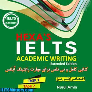 دانلود کتاب HEXA'S IELTS Academic Writing Extended Edition