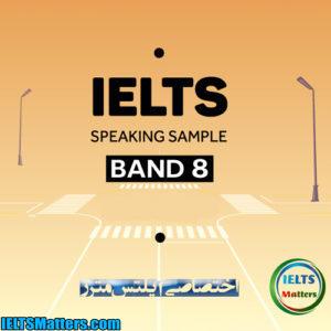 دانلود کتاب IELTS band 8 Speaking Cue Cards