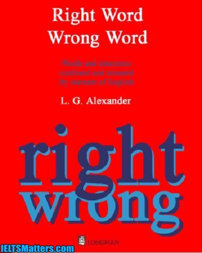 دانلود رایگان کتاب واژه صحیح و واژه غلط Right Word Wrong Word