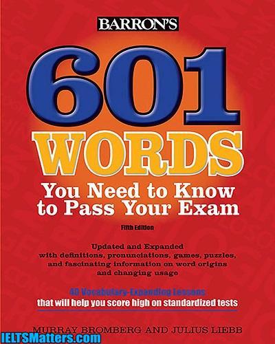 دانلود رایگان کتاب ویرایش پنجم 601Words you Need to Know