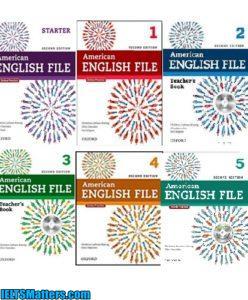 دانلود مجموعه کتاب های American English File
