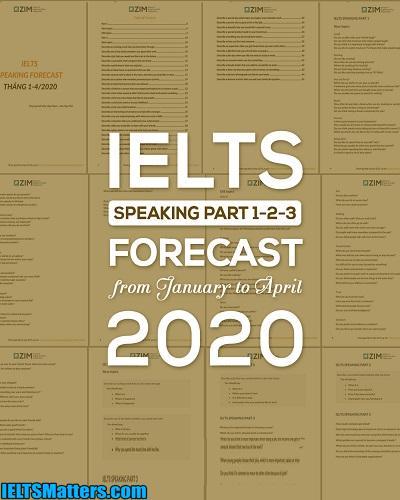 دانلود رایگان کتاب IELTS Speaking Forecast