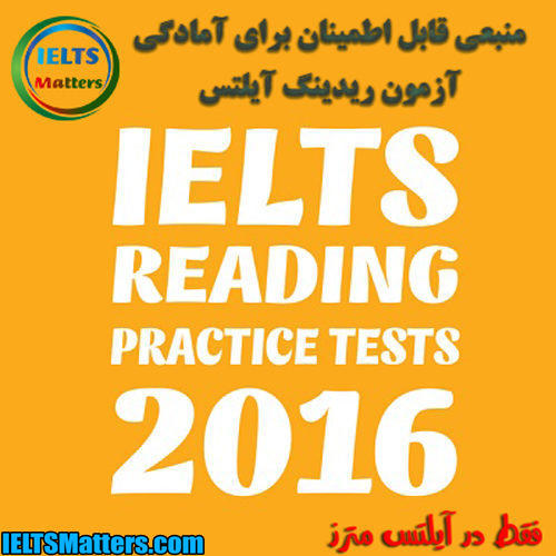 دانلود کتاب IELTS Reading Practice Tests 2016