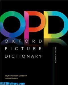 دانلود رایگان ویرایش سوم دیکشنری Oxford Picture Dictionary