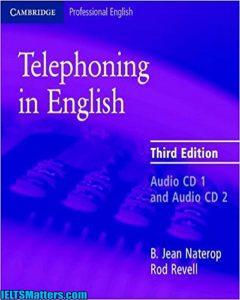 دانلود رایگان کتاب Telephoning in English