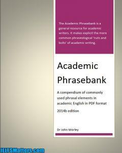 دانلود رایگان کتاب Academic Phrase bank