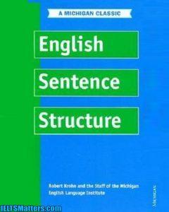 دانلود رایگان کتاب English Sentence Structure