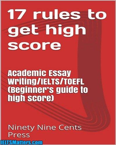 دانلود رایگان کتاب 17Rules to get high score Academic Essay Writing IELTS TOEFL