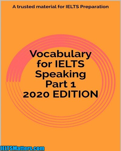 دانلود رایگان کتاب Vocabulary for IELTS Speaking Part 1 2020 EDITION