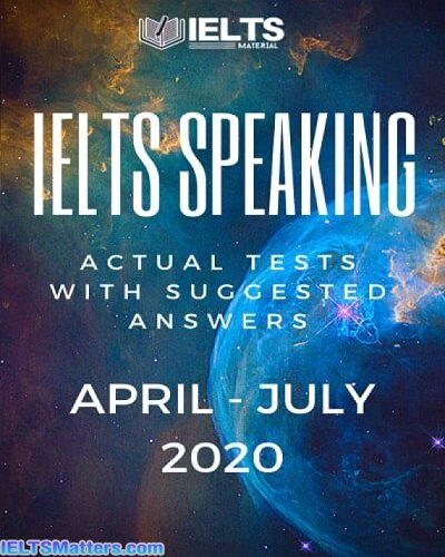 دانلود کتاب IELTS Speaking Actual tests April-July 2020