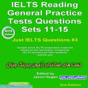 دانلود کتاب IELTS Reading-General Practice Tests Questions Sets 11-15