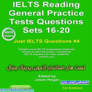 دانلود کتاب IELTS Reading-General Practice Tests Questions Sets 16-20