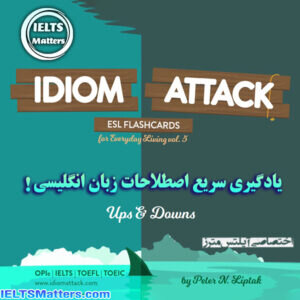 دانلود کتاب Idiom Attack ESL Flashcards for Everyday Living