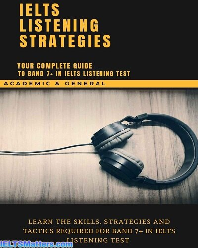 دانلود رایگان کتاب IELTS Listening Strategies Your Complete Guide To Band 7+ In IELTS Speaking Test
