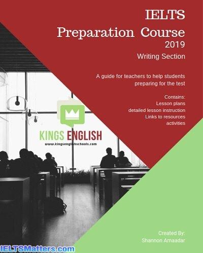 دانلود رایگان کتاب IELTS Preparation Course 2019 Writing Section A Teachers Guide