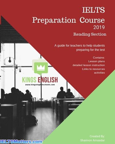 دانلود رایگان کتاب IELTS Preparation Course 2019 Reading Section-A Teachers Guide