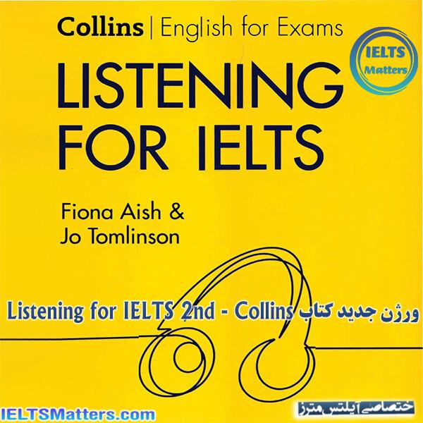 دانلود کتاب Listening for IELTS 2nd - Collins