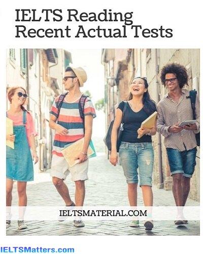 دانلود رایگان کتاب IELTS Reading Recent Actual Tests-Jan-May2020
