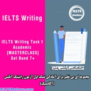 دانلود مجموعه ویدیویی Udemy – IELTS Writing Task 1 Academic