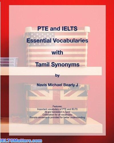 دانلود رایگان کتاب PTE and IELTS Essential Vocabularies