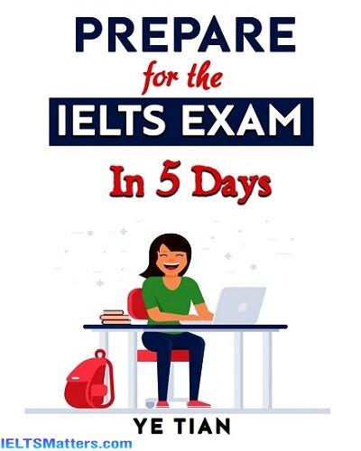 دانلود رایگان کتاب Prepare for the IELTS Exam in 5 Days