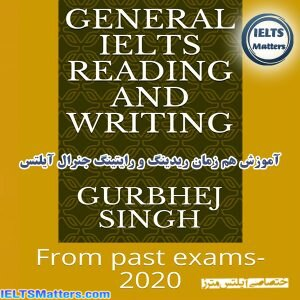 دانلود کتاب General IELTS Reading and Writing - From Past Exams-2020