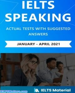 دانلود رایگان کتاب IELTS Speaking Actual January-April2021