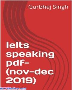 دانلود رایگان کتاب IELTS Speaking PDF