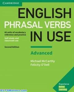 دانلود رایگان ورژن جدید کتاب English Phrasal Verbs in Use-Advanced