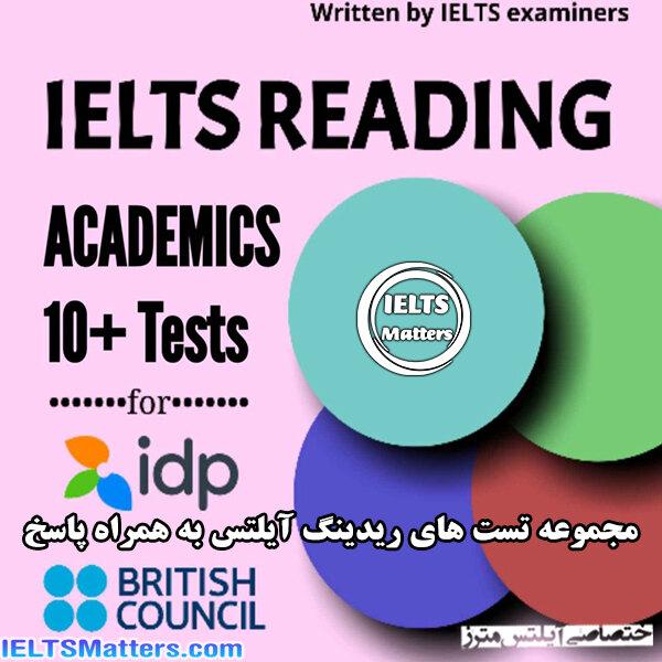 دانلود کتاب IELTS Reading Tests Booklet-IELTS BOOSTER