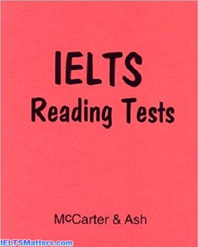 دانلود رایگان کتاب IELTS Reading Academic Tests - MCCarter & Ash