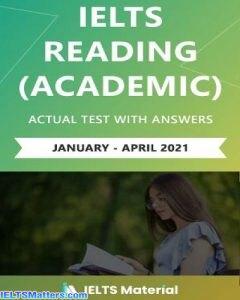 دانلود رایگام کتاب Actual IELTS Reading Tests Feb-May 2021