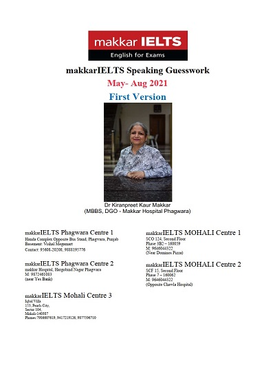 دانلود رایگان کتاب MakkarIELTS Speaking May-Aug 2021