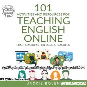 دانلود کتاب 101 Activities and Resources for Teaching English Online