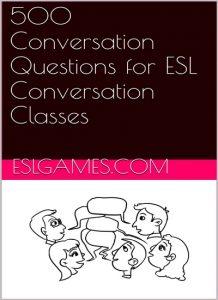 دانلود رایگان کتاب 500Conversation Questions for ESL Conversation Classes