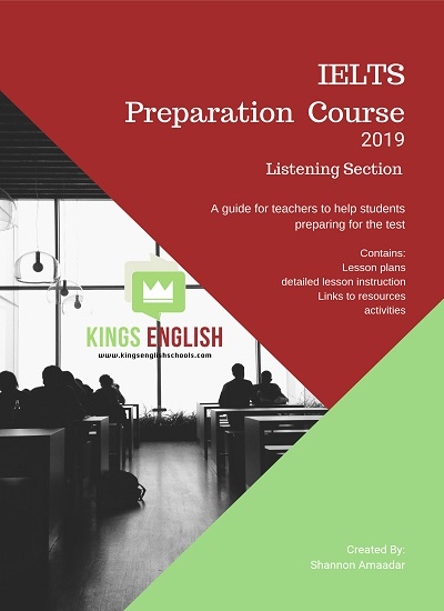 دانلود رایگان کتاب IELTS Preparation Course 2019 Listening Section