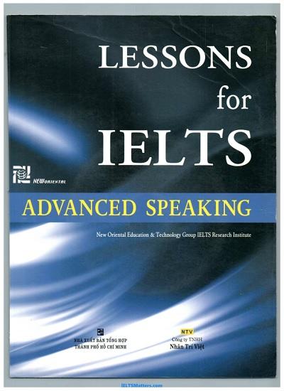 دانلود رایگان کتاب Lessons for IELTS Speaking-Advanced