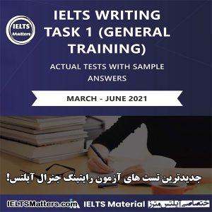 دانلود کتاب IELTS Actual Writing Task 1 (General) March - June 2021